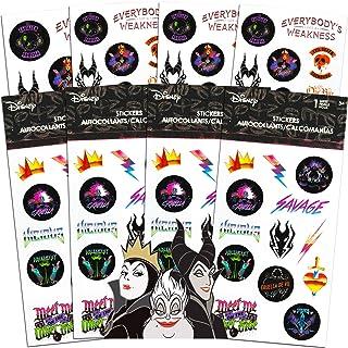 Disney Villains Stickers Party Favors Bundle ~ 100 Disney Villains Stickers Featuring Maleficent, Ursula, The Evil Queen a...