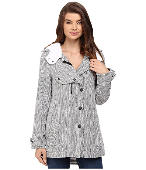 French connection freda parka hooded coat