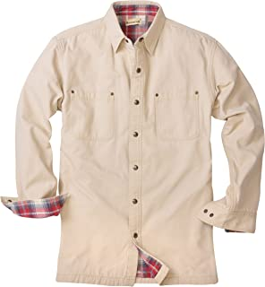Backpacker Canvas/Flannel Lined Shirt Jacket