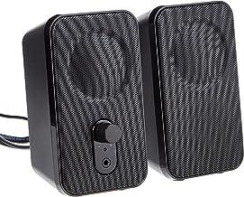 Amazon Basics Computer Speakers for Desktop or Laptop PC | AC-Powered (US Version)