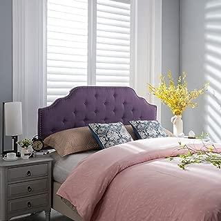 Christopher Knight Home 298483 Silas Headboard, Queen/Full, Light Purple