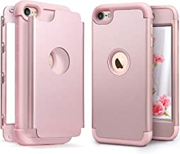 iPod Touch Armor Case with 2 Screen Protector, IDWELL [Three Layer Armor Series] Heavy Duty Protection Shockproof High Imp...