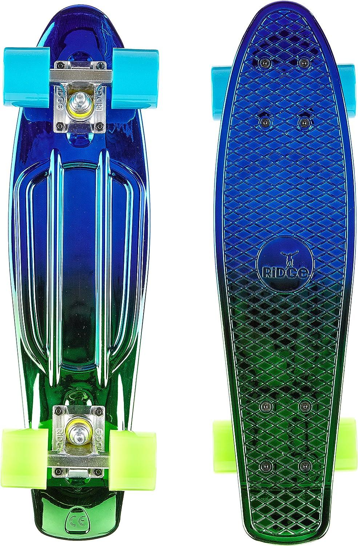 Ridge Maple Mini Retro Cruiser Skateboard Complet Mixte
