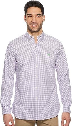Poplin Long Sleeve Sport Shirt