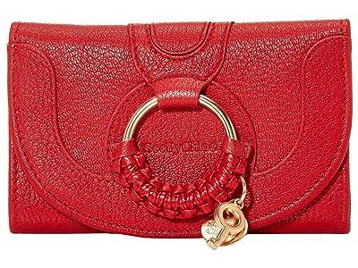 See by Chloe Hana Compact Wallet (Radiant Red) Handbags