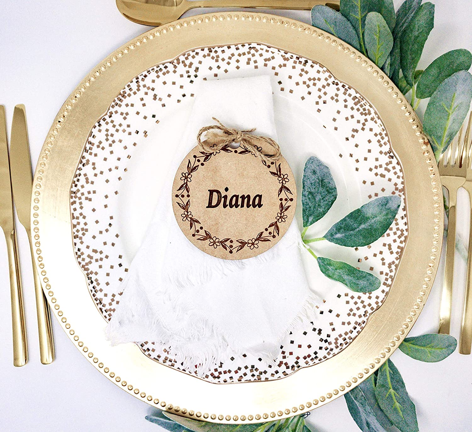 Table Place Cards Name Tags Wedding Tag Rustic Party Max 68% OFF Free shipping