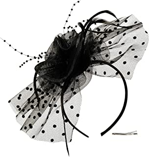 Best feather cocktail hats Reviews