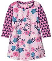 Hatley Kids - Wintery Blooms Mini Swing Dress (Infant)