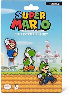 PowerA Collector Pin Set - Super Mario Heroes