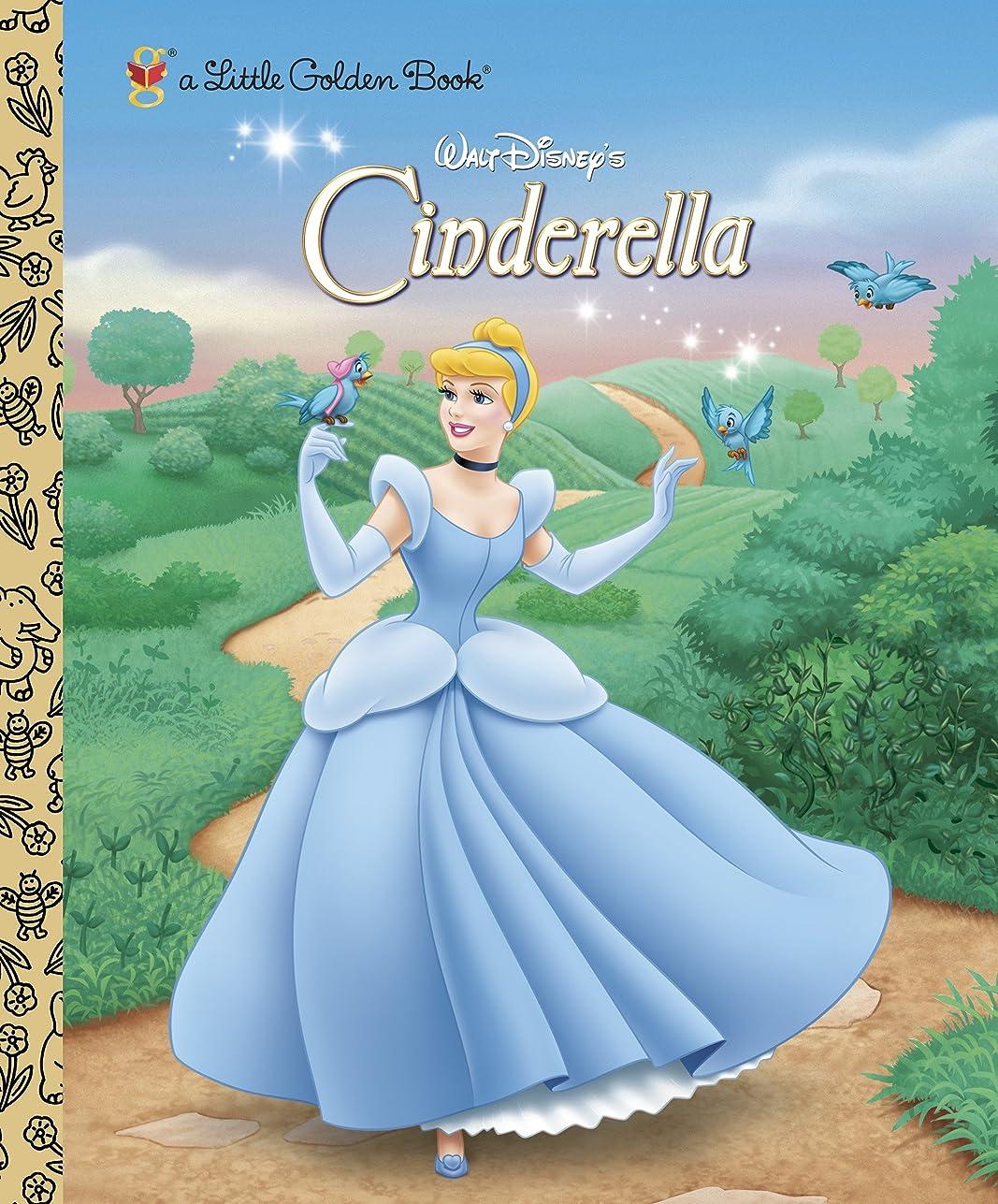 心理的戸棚ネックレットCinderella (Disney Princess) (Little Golden Book) (English Edition)