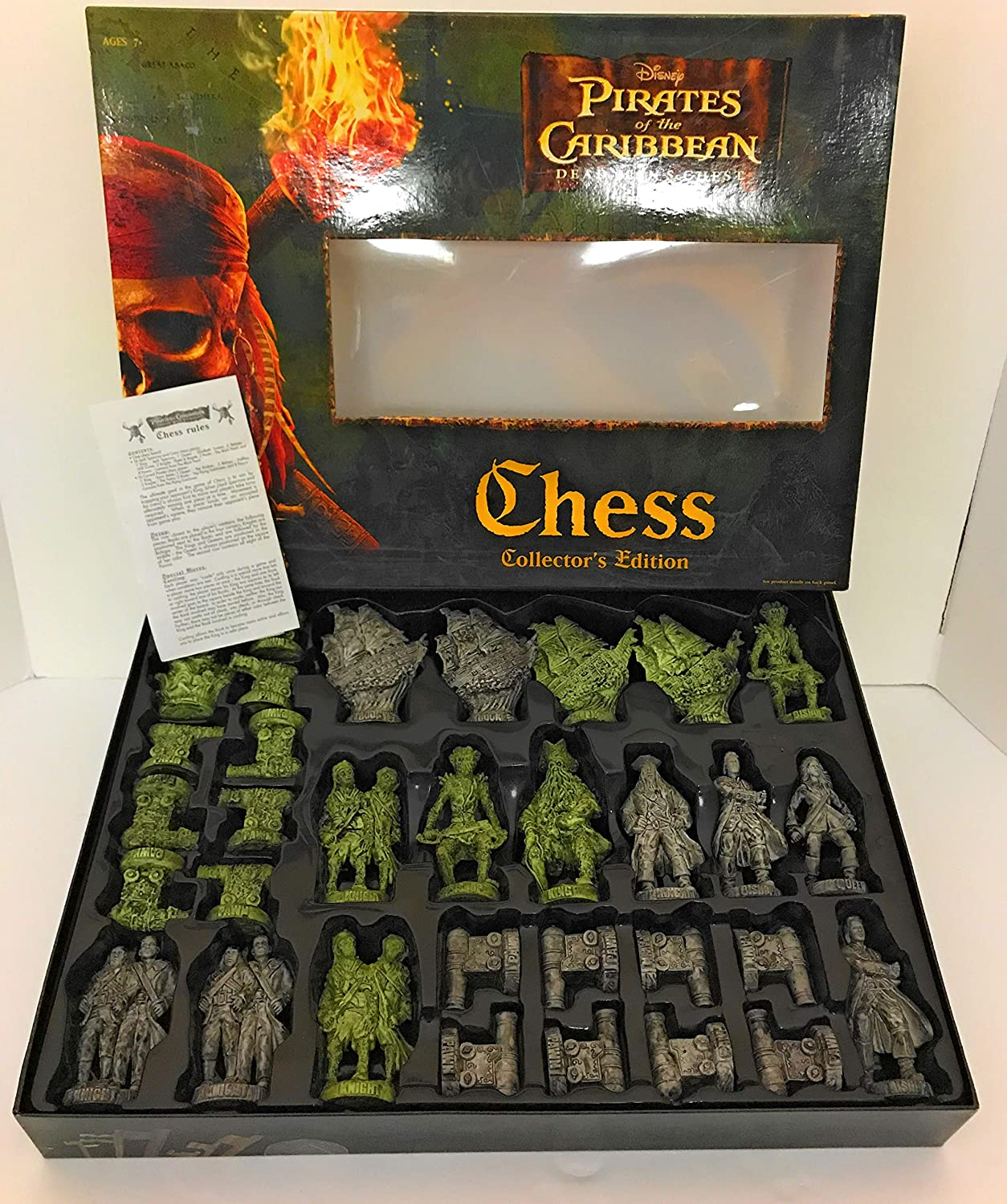 Pirates of the Caribbean-Dead Mans Chest-Chess Game-Collectors Edition by Pirates of the Caribbean