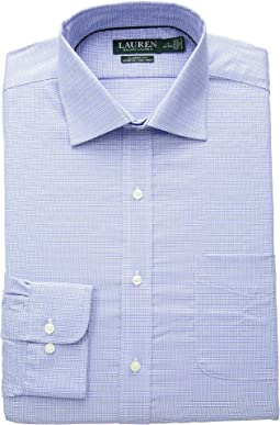 Classic Fit No-Iron Glen Plaid Warren Dress Shirt