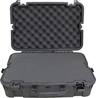 SAS Lockable Heavy Duty Hard Camera Case Pluck Foam with Locking Holes for Pistol, Archery Accessories or Handgun