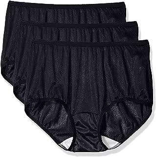 Shadowline Women's Panties-Nylon Modern Brief (3 Pack)