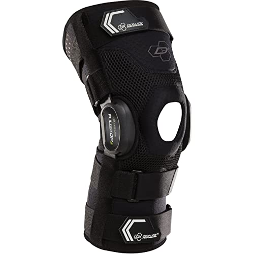 0baa0471df DonJoy Performance Bionic Fullstop ACL Knee Brace – 4 Points of Leverage Hinged  Knee Support for
