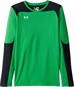 Under Armour Kids - Threadborne Wall Goal Keeping Jersey (Big Kids)