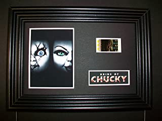 BRIDE OF CHUCKY Framed Movie Film Cell Display Collectible Memorabilia Complements Poster Book Theater