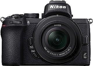 Nikon Z50 + Z DX 16-50 mm spegellös kamerakit (209-punkts hybrid AF, höghastighetsbildbehandling, 4K UHD-filmer, LCD-skärm...