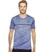 Nike - Court Dry Challenger Short Sleeve Tennis Top