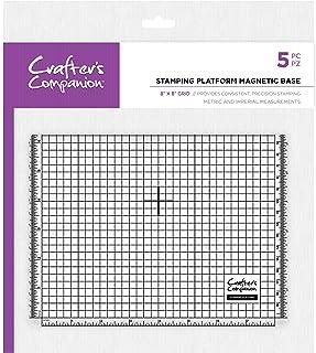 Crafters Companion CC-Tool-MAGBASE Crafter's Companion - Plataforma de estampación magnética de 8