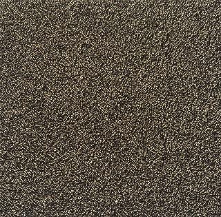 All American Carpet Tiles Wellington 23.5 x 23.5 Plush Easy to Install Do It Yourself Peel and Stick Carpet Tile Squares – 9 Tiles Per Carton – 34.52 Square Feet Per Carton (Whisperwood)