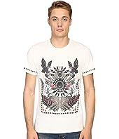 Just Cavalli Slim Fit Abstract Print Jersey T-Shirt
