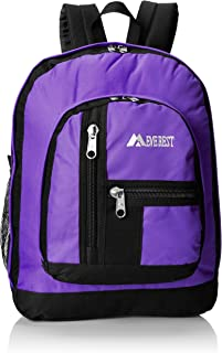 Everest Double Main Compartment Backpack