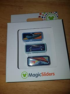 Disney Parks Test Track Mission to Mars Soarin Epcot Magic Band Sliders