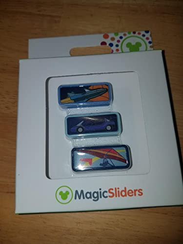 Disney Parks Test Track Mission to Mars Soarin Epcot Magic Band Sliders by Disney
