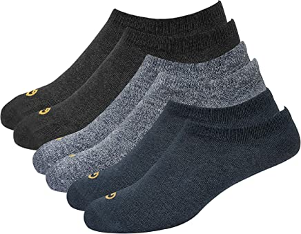 GLINTO Men's Premium Loafer Socks, Pack of 3 (Free size)