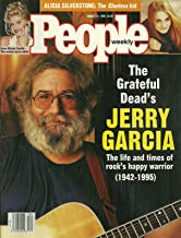The Grateful Dead's Jerry Garcia (1942-1955), Anna Nicole Smith, Alicia Silverstone (Clueless) - August 21, 1995 People Weekly Magazine