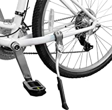 BV Bike Kickstand - Alloy Adjustable Height Rear Side Bicycle Stand, for Bike 24