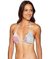 Heritage Patchwork Reversible Bikini Top