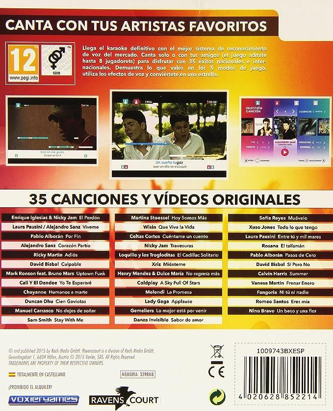Lets Sing 8 - Versión Española, Con 2 Micrófonos : Amazon.es ...