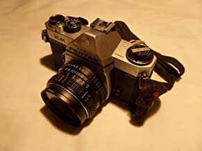 Vintage Asahi PENTAX KM 35mm SLR Film Camera W/ SMC Pentax 1:1.8 55mm Lens
