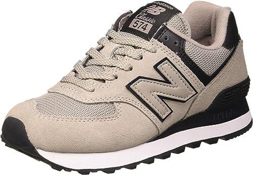 New Balance 574v2, Sneaker Donna, Grey Black Grey Black, 40 EU ...
