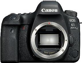 Canon EOS 6D MK II - Cámara digital réflex de 26.2 MP (pantalla táctil de 3.0'', Wifi, Bluetooth, Dual Pixel CMOS AF, 45 puntos AF, vídeos time-lapse en 4K)