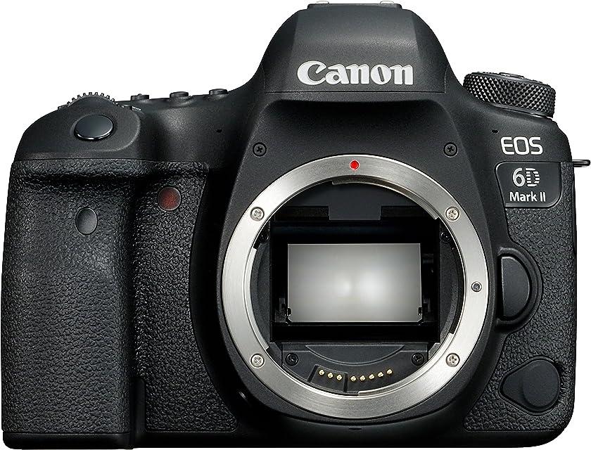 Canon EOS 6D MK II - Cámara digital réflex de 26.2 MP (pantalla táctil de 3.0 Wifi Bluetooth Dual Pixel CMOS AF 45 puntos AF vídeos time-lapse en 4K)