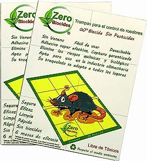 Zero Biocides Lote 2 Trampas para Ratas tamaño Grandes y