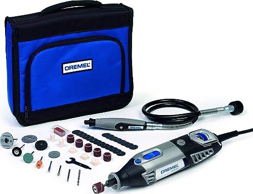 Outil Rotatif Multifonction Dremel 4000 - 175W avec 1 Adaptation 45 Accessoires