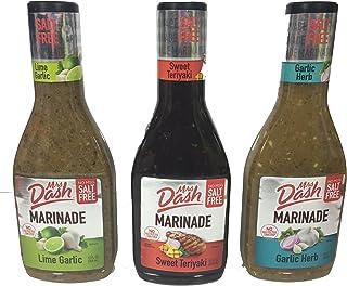 Mrs. Dash Marinade Salt-Free Pack of 3 Variety Pack 12oz