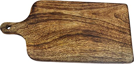 Wooden Cutting Boards for Kitchen Heavy Duty Chopping Board for Meat/Vegetables Fruits Non Slip Reversible Handmade Wood Board