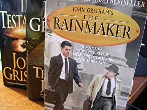 Author John Grisham 3 Book Bundle Set Includes: The Rainmaker - The Last Juror - The Testament
