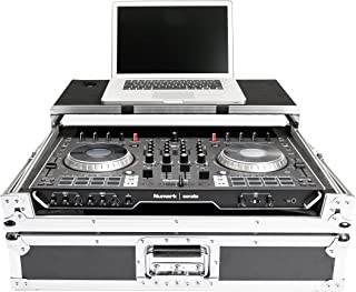 Magma MGA40986 DJ-CONTROLLER WORKSTATION NS6II Black Silver