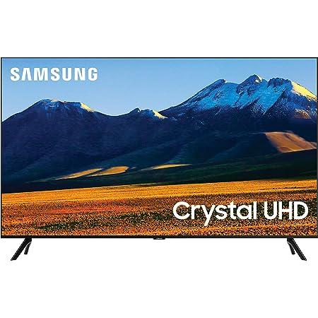 SAMSUNG 86-Inch Class Crystal UHD TU9000 Series - 4K UHD HDR Smart TV with Alexa Built-in (UN86TU9000FXZA, 2020 Model), Black