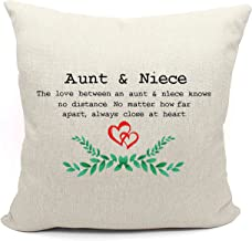 Aunt and Niece the Love Between An Aunt and Niece Knows No Distance - Wedding Anniversary Birthday Mothers Day Christmas f...