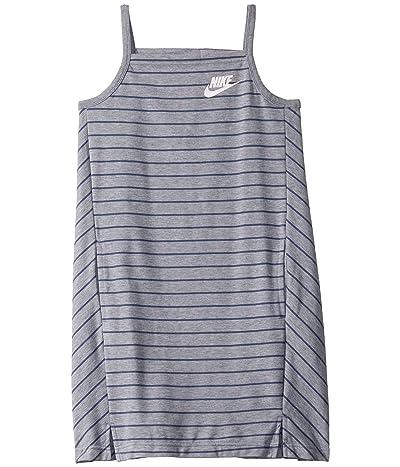 Nike Kids NSW Dress (Little Kids/Big Kids) (Ashen Slate/Diffused Blue/White) Girl