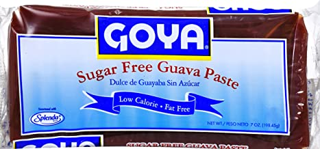 Goya Foods Sugar Free Guava Paste, 7 Ounce