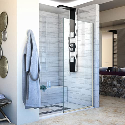 Shower Glass Panel Amazon Com