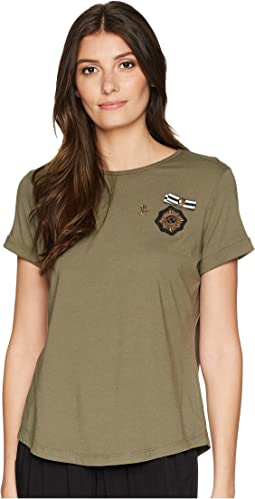 Bullion-Crest Jersey T-Shirt